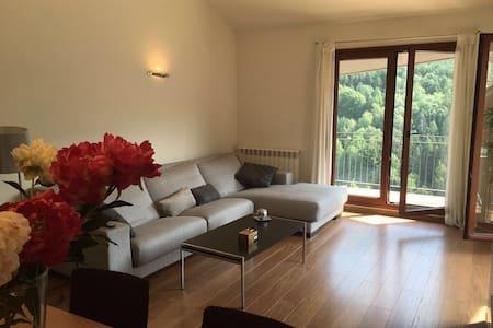 Apartamento con encanto con vistas a la montaña - La Massana - Appartement