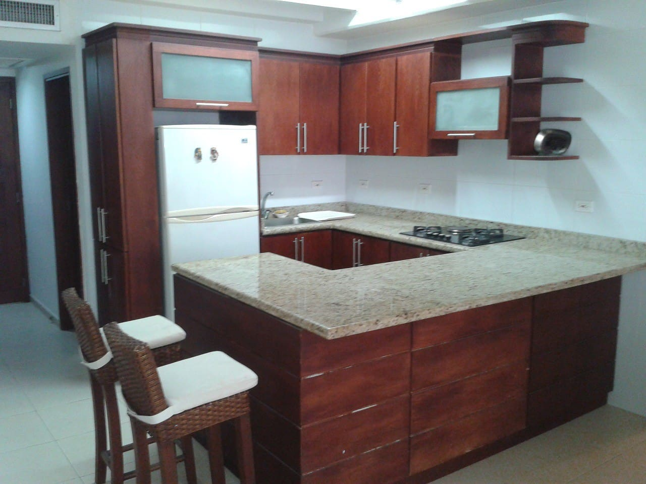 Cocina del apartamento. REGISTRO NACIONAL DE TURISMO 52032