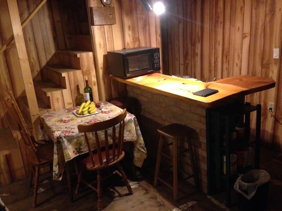 Basement Dining Area