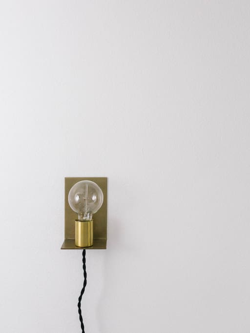 A beautiful hand dipped light from Schoolhouse Electric