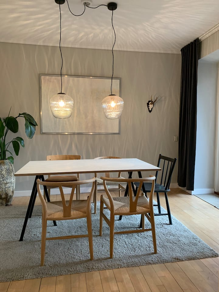 72sqm Østerbro 3-room apartment with 2 balconies