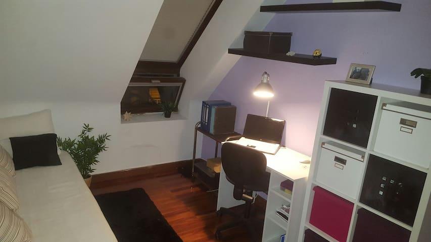 Habitación-estudio acogedor - Astillero - Lägenhet
