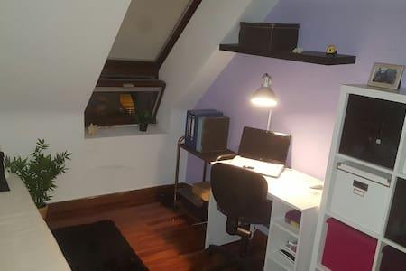 Habitación-estudio acogedor - Astillero