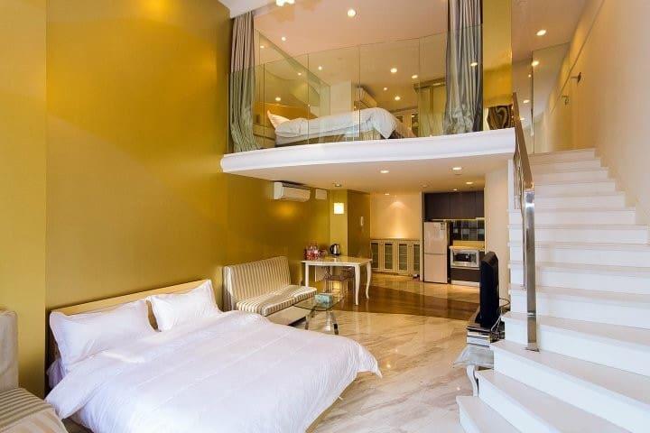 钱塘江边的酒店式公寓 - หางโจว - อพาร์ทเมนท์
