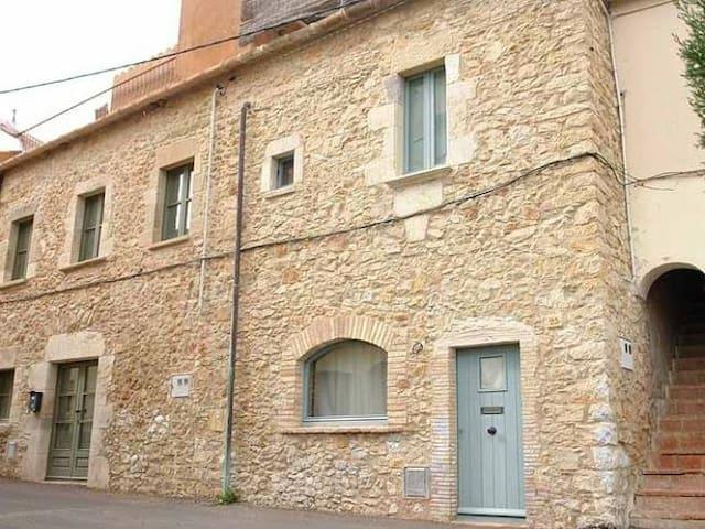 XVII Century Catalan Charm House Regencos 4 pax. - Regencós - Casa