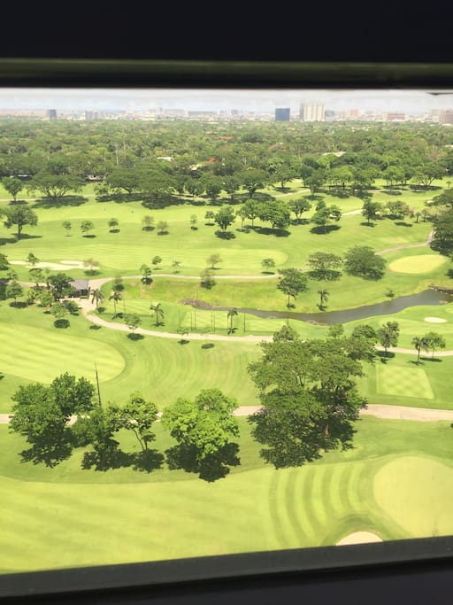 View of Manila Golf Course