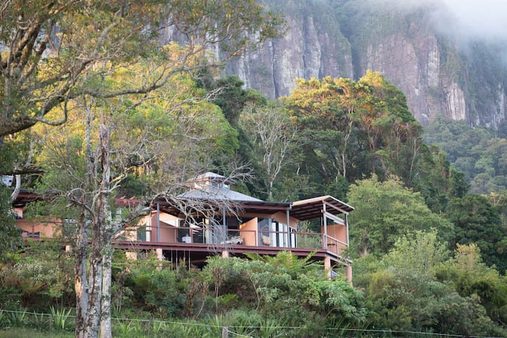 RUAH:Rainforest  Retreat, the spirit of life - Numinbah - Wikt i opierunek