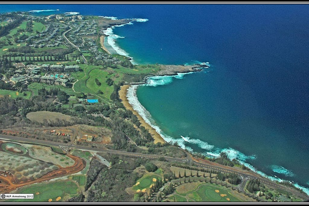 This is sunny Kihei where you will find the least amount of rainfall on the island and 6 miles of sun kissed beaches!