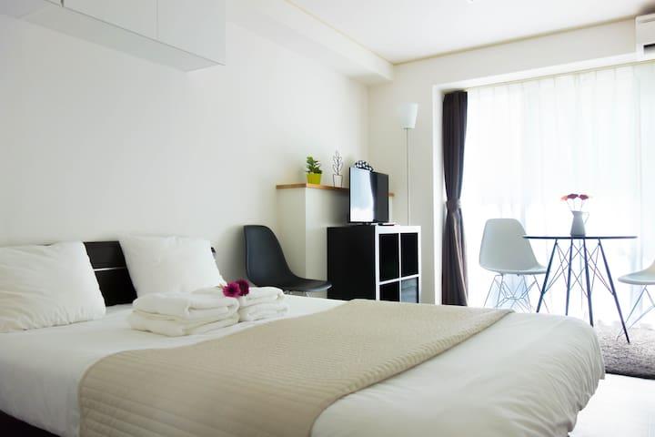 Next Park Hyatt | SHINJUKU 1-9 | Cozy | FREE WIFI - Shinjuku - Appartement