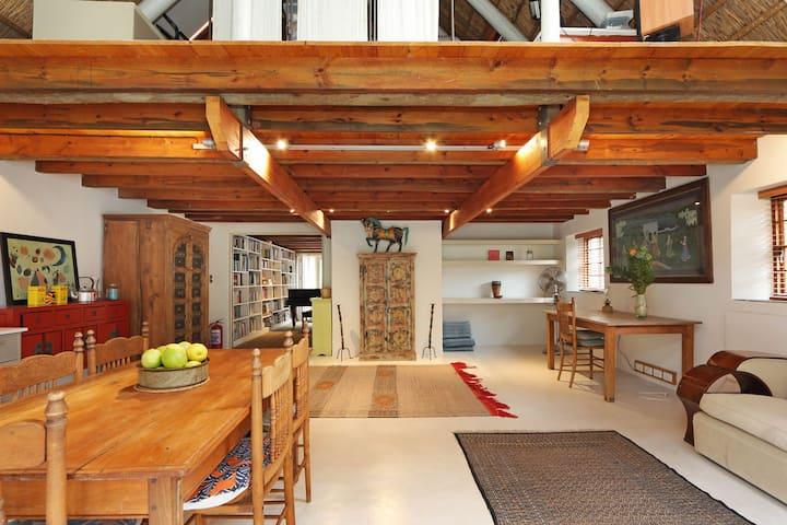 Fynbos Cottage on Equestrian Estate