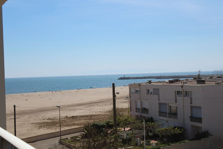 appartementSt pierre la mer 20m plage et commerces - Fleury - Apartmen