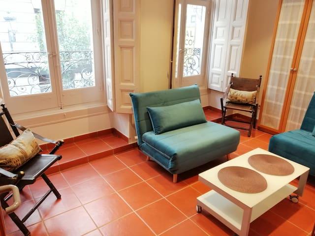 Apartamento Unico entre Sol y Plaza Mayor WIFI A/C