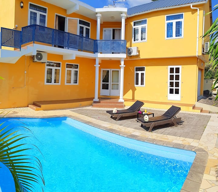 Koki 3 - 3 bedr. apart with pool in Pereybere