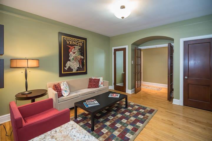 Oliva Lofts on the Hill - LOFT A: 2 Bedroom/2 Bath