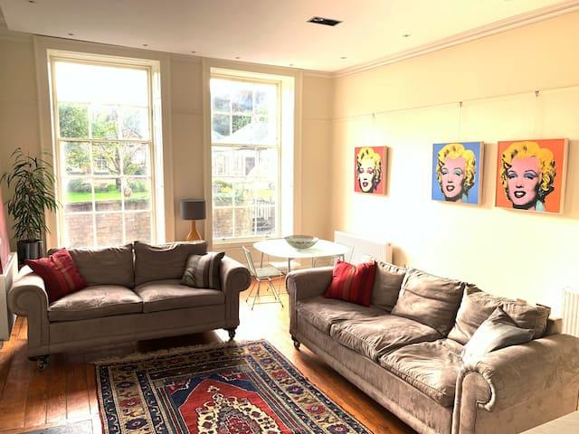 Imposing and comfortable luxury Georgian apartment