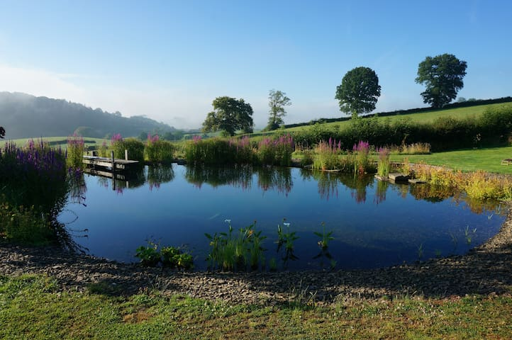 Beautiful, absolute peace in an unspoilt valley - Monmouthshire - 一軒家