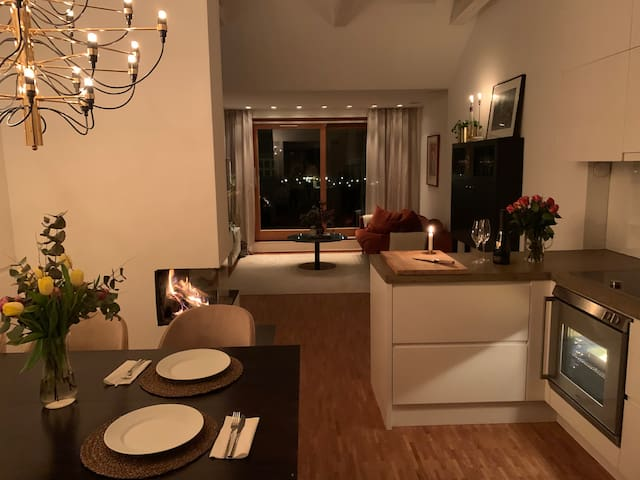 Exclusive flat with terrace at prime location