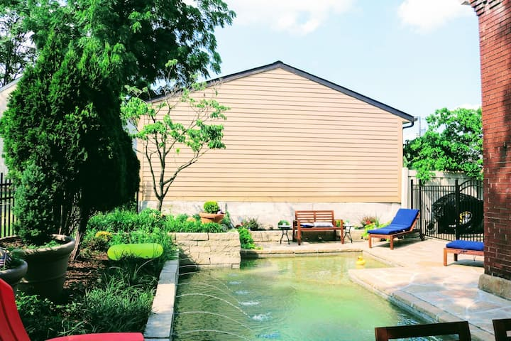 Clark Brick House w/ Pool | Historic St. Charles