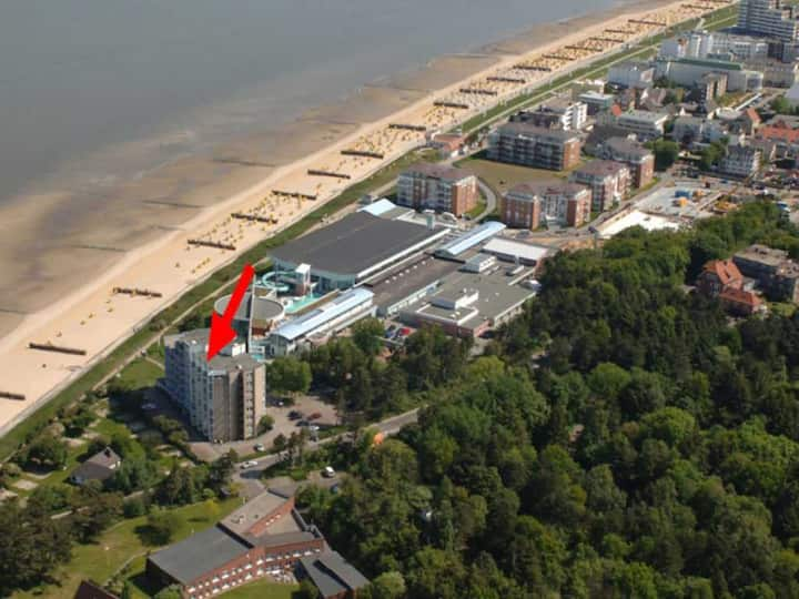 Apartment direkt am Strand in Duhnen (Seesicht)