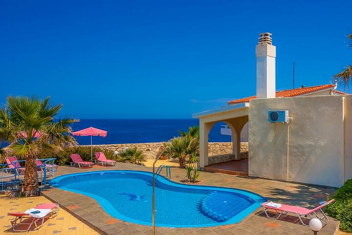 Villa Clio, breathtaking sea view