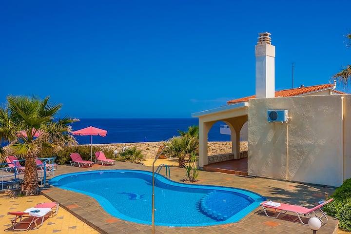 Villa Clio, breathtaking sea view