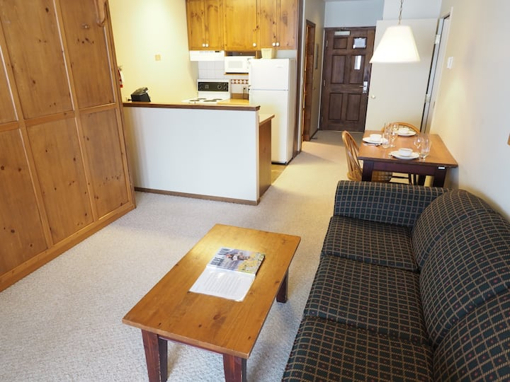 Ski in/ski out ground floor suite