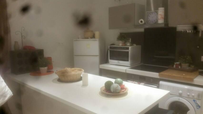 Appart. 40 m2 avec petite terrasse - Grimaud - Leilighet