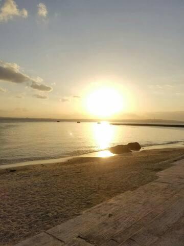 目の前にビーチがある。沖縄の古民家です。 - 国頭郡 - 一軒家