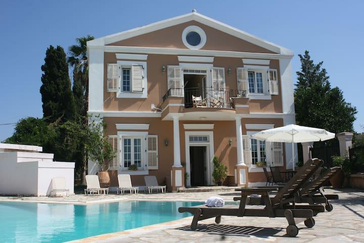 CORFU STRAWBERRY PINK VILLA DURREL - Corfu - House