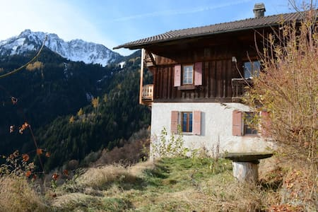 Cozy apartment in Swiss ancient chalet - Torgon