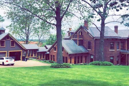 Modern/Historic Mansion