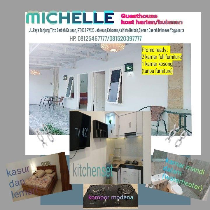 MICHELLE GUESTHOUSE kamar rasa apartemen