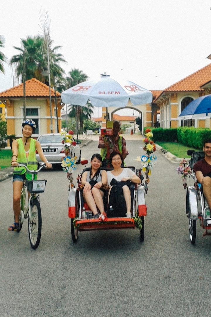 槟城特色-自行车之旅