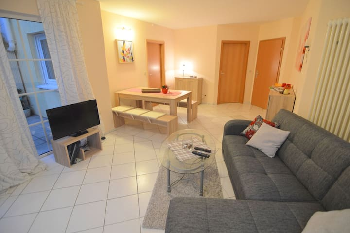 Modern furnished apartment near the National Park Eifel