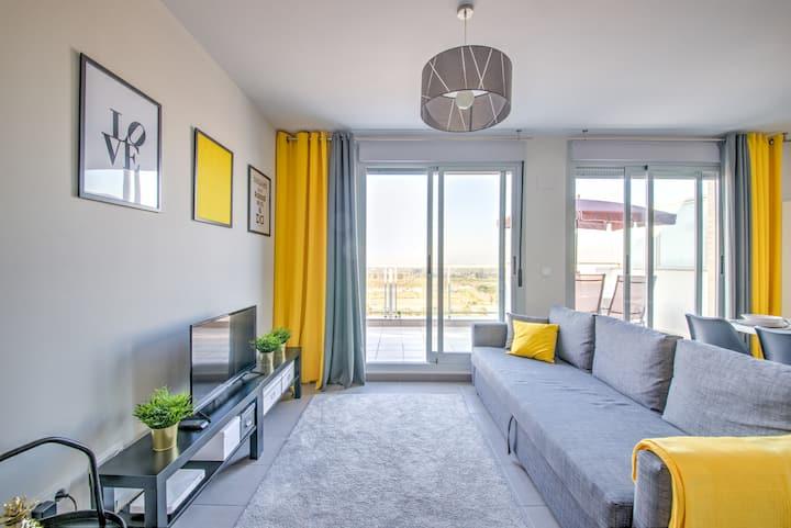 Apartment BlueHat Moncofa