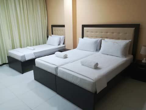 Room for 3 in Hotel Vjosa