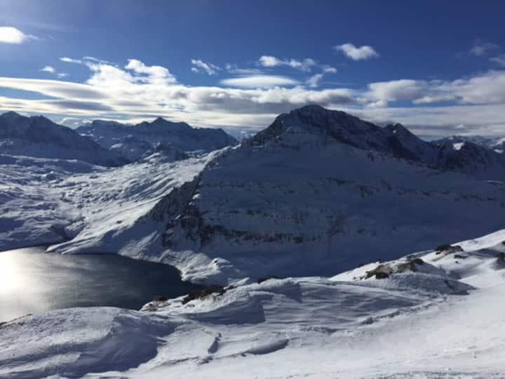 Appartement proche départ des pistes de ski