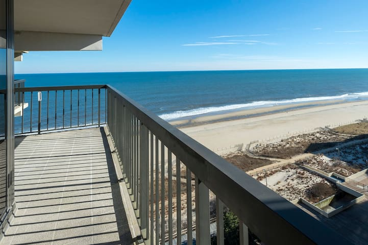 Sea Watch 1314 is a gorgeous Ocean Front Condo in famous Ocean City MD.