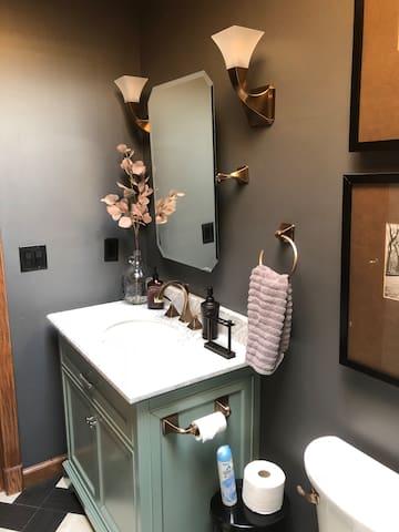 Guest bath vanity.