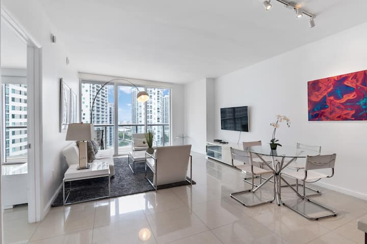 ICON BRICKELL • DIRECT CITY & RIVER VIEWS•FREE SPA