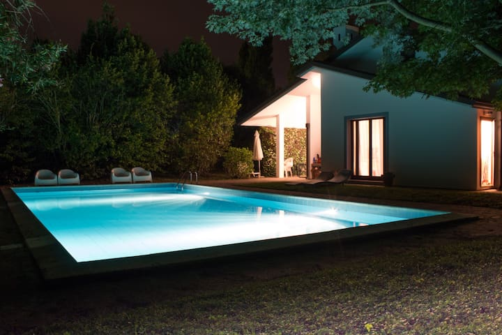 Luxury house with pool - Isola Albarella - Haus