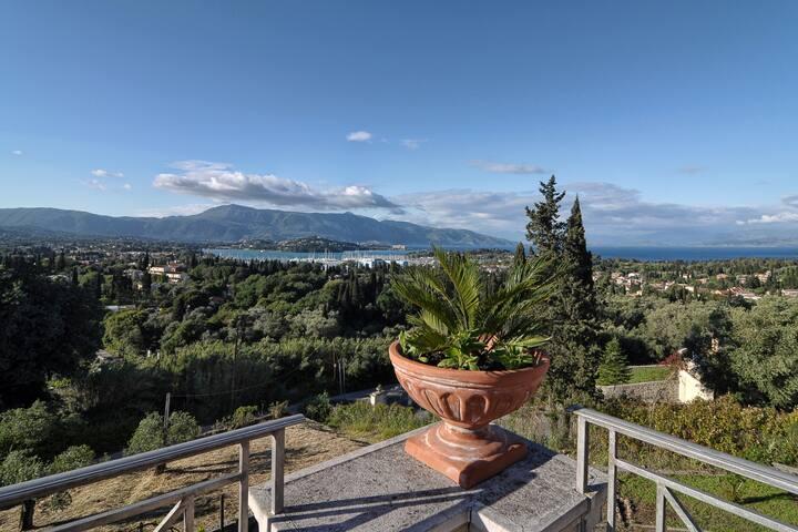 Panorama Agios Andreas Corfu