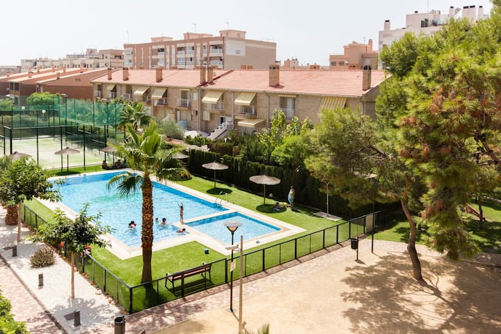 Fantastic attic-duplex. Private urb - Sant Joan d'Alacant - Apartament