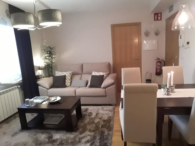 Comfortable apartment with many services