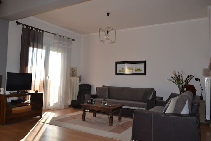 Amazing sea view apartment in the city center! - Alexandroupoli - Departamento