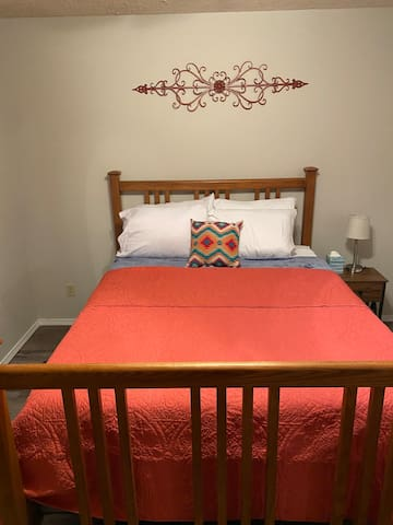 Get a great nights sleep on the new, very comfy mattresses.