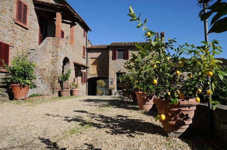 "Organic Farmhouse near Florence7""Coppaia2"" - Vinci - Apartemen"