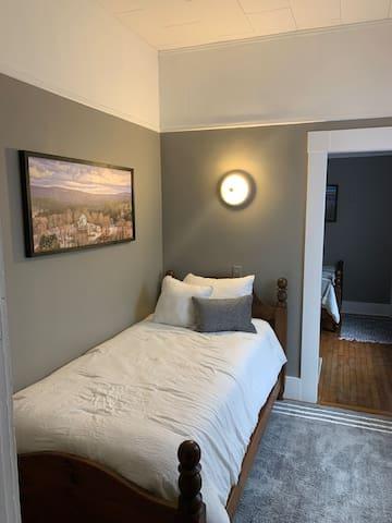 Bedroom #3 - Twin - has walk in closet with built-ins.