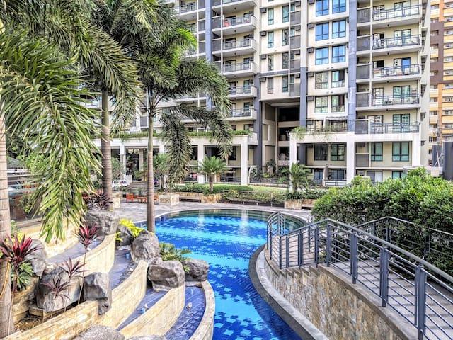 2BR Resort Condo Flair tower nr Shangrila,MRT,Mega