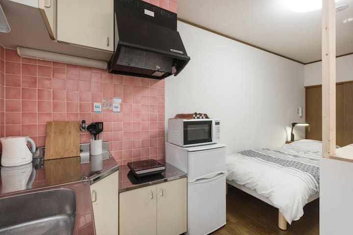 1F) Cheap & Clean Room for Only 1 Group +Free Wifi